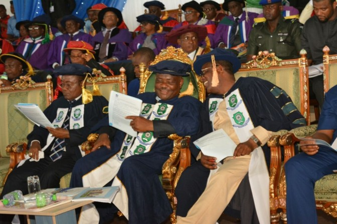 RSUST HOLDS 28th CONVOCATION CEREMONY