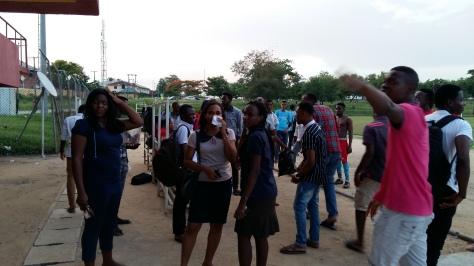 Some spectators GH however felt the Match Officials