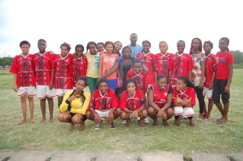 Female Medical Students Team