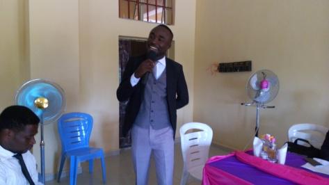 Cumsa president-Ogar Emmanuel addressing CUMSites