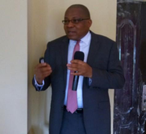 Dr E.Effiok guest lecturer