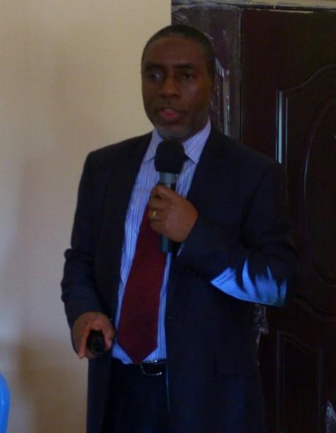 Dr. D. Nkanga guest lecturer
