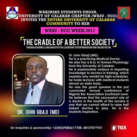 Dr. John Gbaji