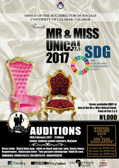 Mr and Miss Unical