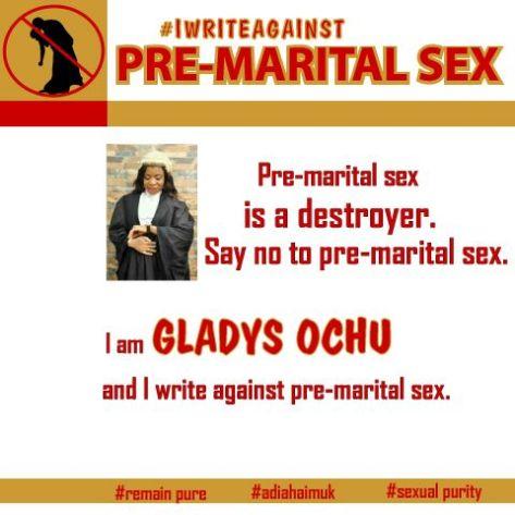 #iwriteagainstpremaritalsex