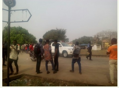 FUTO STUDENTS PROTEST