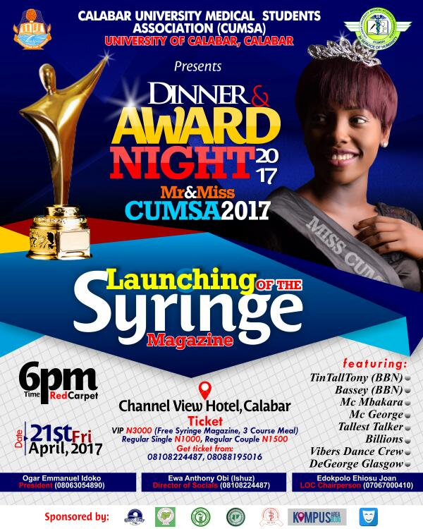 CUMSA AWARDS 2017: VOTERS REGISTRATION ( SPONSORED)