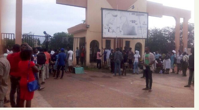 WHY JAMB EXAMINATIONS DID NOT HOLD AT LAUTECH ON MONDAY