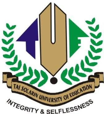 SEE TAI SOLARIN UNIVERSITY OF EDUCATION SECOND SEMESTER E-EXAMINATION TIMETABLE, 2016/2017 SESSION.