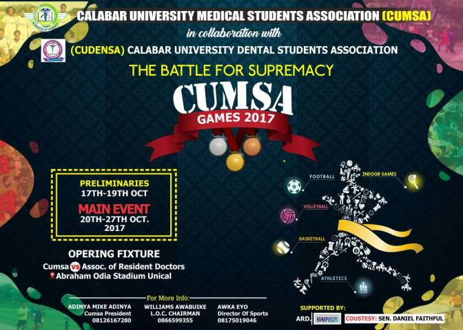 CUMSA GAMES 2017 KICKS OFF WITH PRE-LIMS (PICS)